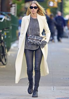 This Is the #1 Legging Outfit for Fall via @WhoWhatWear
