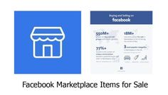 Facebook Marketplace Items for Sale - Items You Can Buy On the Facebook Marketplace | Tecteem Do You Know What, Getting To Know You, Need To Know, Facebook Users, Facebook Business, Facebook Platform, Quick News, Know Your Customer, Facebook Features