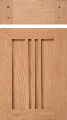 Quarter-Sawn Red Oak Wood Cabinets |Gilmans Kitchen and Baths ...
