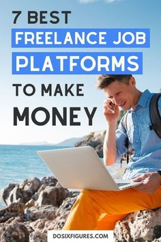 Want to work from home as a freelancer? Sign up with these freelance job platforms, list your services, and start making money! Make Side Money, Make Money From Home, Online Careers, Online Jobs, Earn Extra Cash, Extra Money, Earn Money Online, Make Money Blogging, Home Based Business