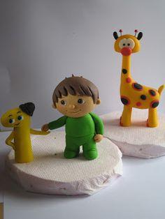 "Figurice za torte (Fondant design Ana): BABY TV (Charlie numbers, Giraffe) Studio ""Fondant Design Ana"""