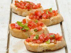 Bruschetta met tomaat en basilicum #birthdayidea