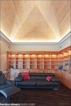 Living Room Uplighting living rooms with beams that will inspire | attic conversion