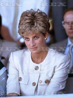 July 12 1993:  Diana visits the Nemazura Feeding Centre, a Red Cross project for refugees in Mazera, Zimbabwe