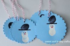 Fingerprint Christmas Ornaments | Things to Make and Do, Crafts and Activities for Kids - The Crafty ...
