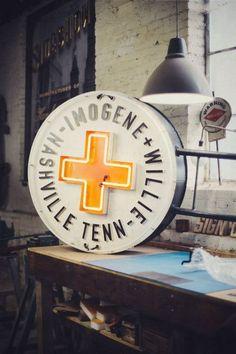 Imogene+Willie | signage