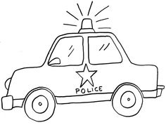 Cochepolicia1 Jpg 1024 773 Cars Coloring Pages Cars Preschool Police Cars