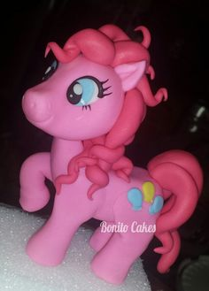 My Little Pony Pinkie Pie Fondant