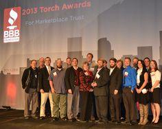Swingle Wins 2013 Better Business Bureau Torch Award Friday October 18th, Swingle was awarded the coveted Better Business Bureau's 2013 Torch Award for Marketplace Trust.