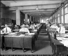 1916 office building - imagine being creative in this workspace