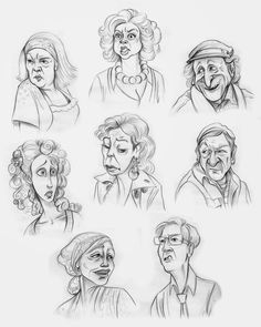 Tina Nawrocki - Art and Animation: Character Design - Caricatures - Ranczo