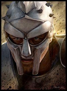 Maximus Decimus Meridius by Sheridan-J on DeviantArt Gladiator Maximus, Gladiator Movie, Gladiator Helmet, Gladiator Tattoo, Roman Warriors, Greek Warrior, Spartan Warrior, Russell Crowe, Kino Film