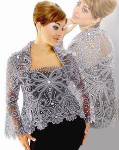 lace from Elets city Crochet Coat, Crochet Blouse, Lace Tape, Romanian Lace, Tatting Lace, Lace Jacket, Linens And Lace, Russian Fashion, Irish Lace