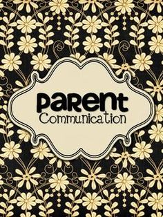 Parent Communication Forms Freebie - this is a TpT (teachers pay teachers) thing - so if you are not and wish not to set up an account - let me know - I have it!