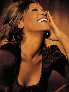 "Whitney Houston..""it's Not Right but its okay..Im going to make it any ways..Pack your bags up and leave."" <3"