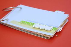 Love Mini Album Book Notebook Daybook Kit  Mixed by iloveitall, $27.00