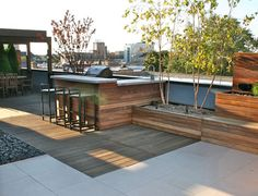 ROOFTOP GARDENS | East Lakeview Rooftop Lounge | Chicago Specialty Gardens