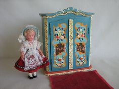Vintage DORA KUHN Doll Furniture WARDROBE in Large by TheToyBox