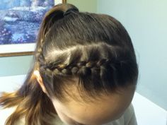 cool anime hairstyles : ... Hairstyles on Pinterest Gymnastics Hair, Hairstyles and Competition