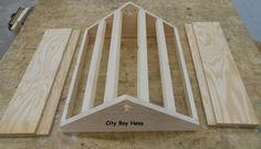 How to Make a Ventilated Beehive Roof