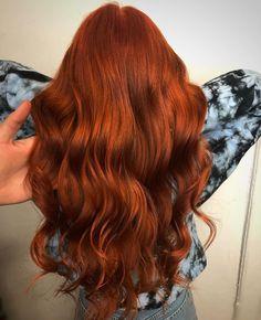 Red Copper Hair Color, Ginger Hair Color, Pretty Hair Color, Red Orange Hair, Natural Red Hair, Hair Issues, Dream Hair, Love Hair, Ombre Hair