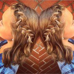 It's the weekend!  Hair by Riley. #cowanhair #cowanbraids