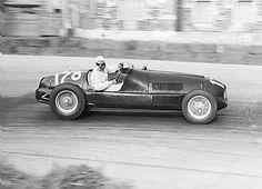 1948 gp di apertura, vercelli - count bruno sterzi (ferrari 166sc) 2nd | by Cor Draijer