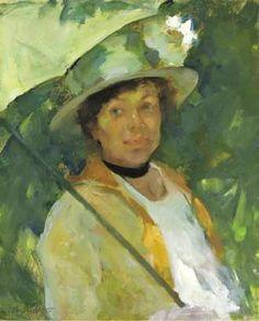Martha Walter (American Impressionist, 1875–1976) Summer Sunshine