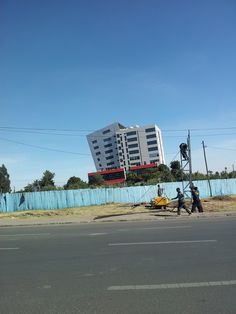 Cool building in Addis Ababa, Ethiopia