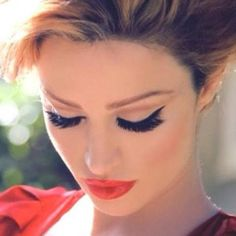 In love with this makeup look!