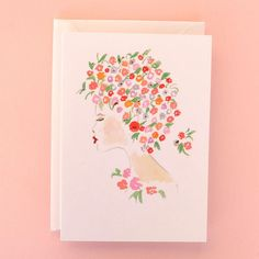 Designed exclusively for MAYVEDA, the Violetta greetings card features a watercolour drawing of a lady. The greetings card has been printed on heavyweight 340gsm stock paper in England, sustainably sourced with a light satin finish, left uncoated on the inside for easier writing. The card comes with a thick crisp white envelope and the inside of the card is blank. Violetta is part of our Girls Greetings Card series, the card was designed and painted by designer Gillian from Things in…