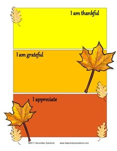 FREE Thanksgiving Haikus