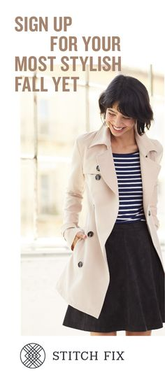 Fall is right around the corner, and new arrivals are rolling in! Sign up for Stitch Fix and your stylist will send you the perfect transition outfits right to your doorstep. Fill out a quick Style Profile online, set your budget and try on handpicked styles in your own home. Free shipping and returns, always!