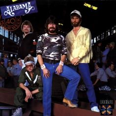 The group Alabama from Ft. Pain, AL Seen these guys at Austin Peay with tickets I had won on a local radio station. This was in the mid 80's when they were at their peak...hell of a show