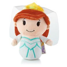 Fans of The Little Mermaid will be happy to add this adorable version of Ariel to their collection. Hallmark's itty bittys® plush are so fun to collect that you'll want to own each and every one of these perfectly-sized companions.