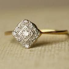 Image result for engagement rings vintage