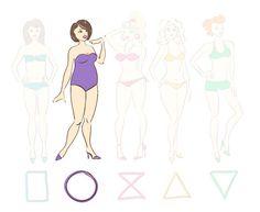 J'ai une morphologie ronde ou en O quelle type de maillot choisir ? On vous dit tout et on vous donne des conseils pour effacer les courbes disgracieuses au profit des jolies formes
