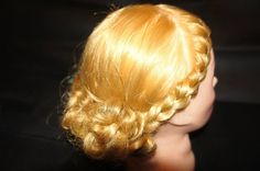 Hair for promotional party at Stars.