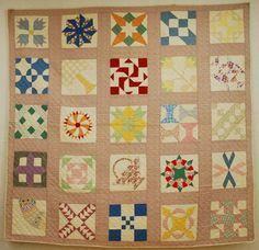 antique quilting | Quilts-Vintage and Antique: Ruby McKim 1930 Patchwork Sampler Quilt inspiration only