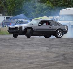 Ken Block used to say that Fox body Mustangs were the best kept secret in drifting. Looks like somebody agrees! Tag the owner! . . . . . #drift #provinggrounds #drifting #onlyinmn #brainerdinternationalraceway