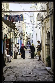 Old City Tripoli Libya