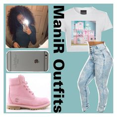 """Thugs Mansion"" by queen-peaches on Polyvore featuring Timberland"