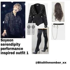 195 Likes, 0 Comments - kpop_other Kpop Fashion Outfits, Stage Outfits, Korean Outfits, Dance Outfits, Cute Swag Outfits, Simple Outfits, Chic Outfits, Girl Outfits, Bts Clothing