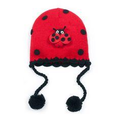 25bd68f9a64 Kidorable Ladybug Hat Baby Girl Fashion