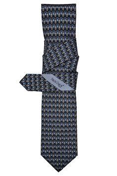 #Corbata #Slim Pavo Real Negro. #Diseño #Estilo #México #PinedaCovalin #Tie
