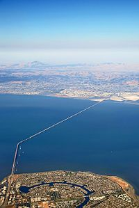 San Mateo Bridge - Where I lived in California