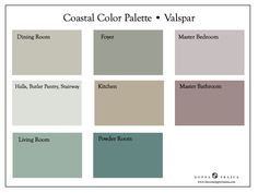 Nothing says Spring like a fresh coat of paint in your home. Come make it Coastal! I don't know if you noticed or not (touch of sarcasm) but I LOVE Coastal Colors. I said it time and time again tha...