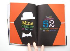 Illustrated book layout
