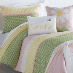 Lazy daisy room on Pinterest Crib Bedding Sets, Comforter Sets and Decorative Throw Pillows