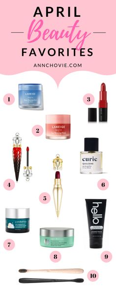 For this past month's April Beauty Favorites, I've got a lovely mix of skincare, beauty, and healthcare products that I'm excited to share with you! Check out my top picks on the blog along with in-depth beauty reviews!| BEAUTY PRODUCTS | SKINCARE PRODUCTS | SKINCARE ROUTINE | SKINCARE FAVORITES | SKINCARE TIPS | BEST MAKEUP PRODUCTS |